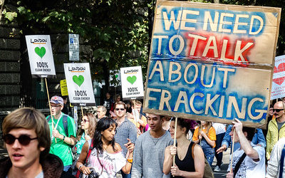 The Banks Fueling Fracking