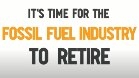 It's time for the fossil fuel industry to retire…